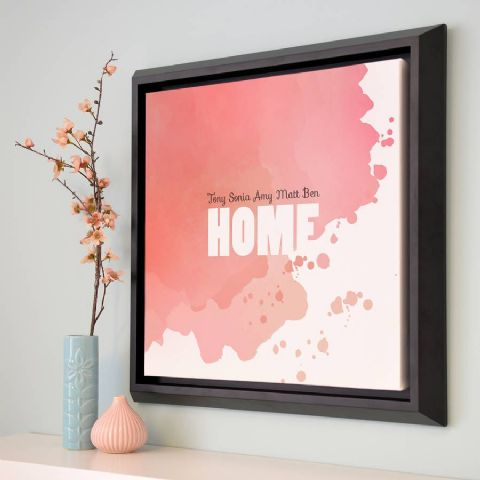 Personalised Home Abstract Art